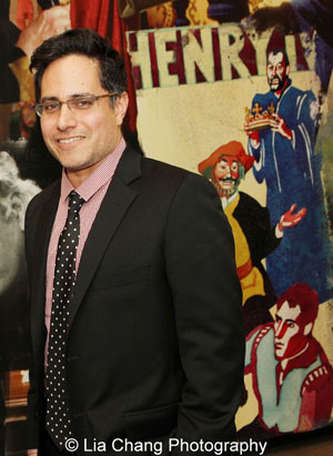 Rajiv Joseph, 2013 Steinberg Playwright Award Honoree. Photo by Lia Chang