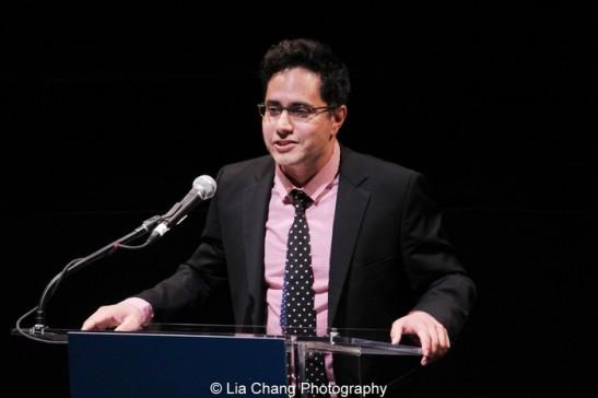 Rajiv Joseph, 2013 Steinberg Playwright Award Honoree. Photo by Lia Chang