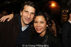 Tommy Costanzo and his wife Daphne Rubin-Vega. Photo by Lia Chang