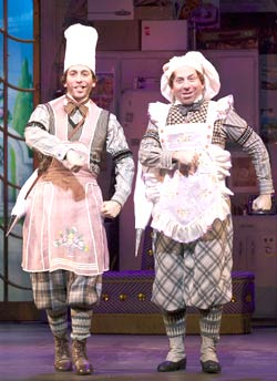 The Drowsy Chaperone's Garth Kravits and Jason Kravits.  Photo by Craig Schwartz