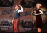 Garth Kravits and Lauren Molina in Meet Me in St. Louis: A Live Radio Play at Bucks County Playhouse in New Hope, Pa. (MANDEE KUENZLE/Bucks County Playhouse)