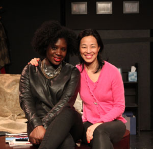 Camille Darby and Lia Chang. Photo by Christopher Burris