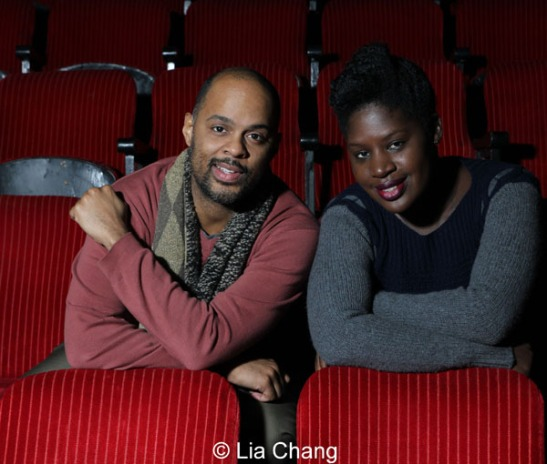 Christopher Burris and Camille Darby. Photo by Lia Chang