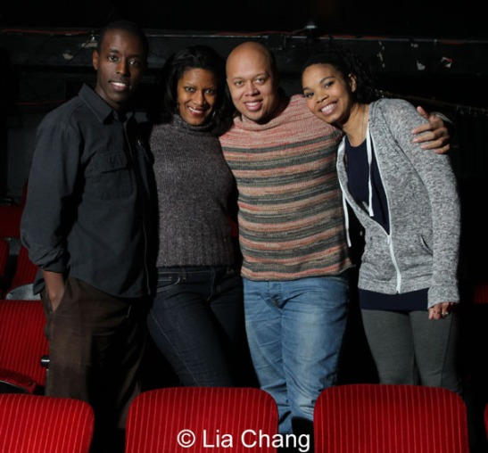 Matthew Murumba, Tracey Conyer Lee, Lelund Durond Thompson and Carmen LoBue. Photo by Lia Chang