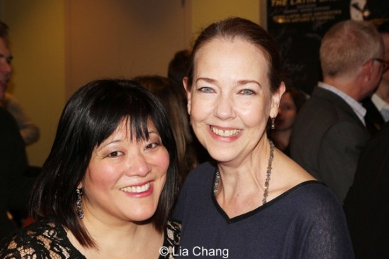 Ann Harada and Harriet Harris. Photo by Lia Chang