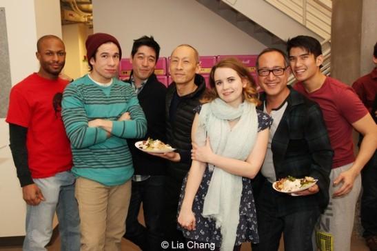 Emmanuel Brown, Jon Rua, Peter Kim, Francis Jue, Phoebe Strole, Alan Muraoka and Christopher Vo. Photo by Lia Chang