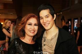 Cole Horibe and his mother Wanda Whang Horibe. Photo by Lia Chang