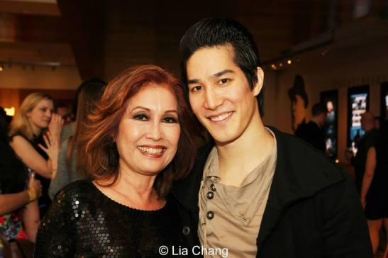 Cole Horibe and his mother Wanda Whang Horibe. Photo by Lia Chang