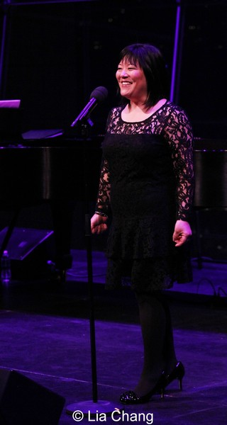 Ann Harada in concert. Photo by Lia Chang
