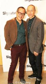 Alan Muraoka and Francis Jue. Photo by Lia Chang