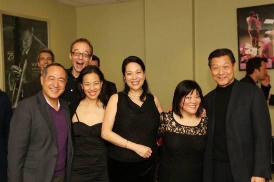 Alan Muraoka, Gary Adler, Lia Chang, Christine Toy Johnson, Ann Harada and James Saito.