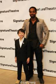 Bradley Fong and Clifton Duncan. Photo by Lia Chang