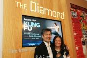 David Henry Hwang and his sister Grace Elizabeth Hwang. Photo by Lia Chang