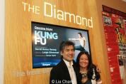 David Henry Hwang and his sister Grace Elizabeth Hwang. Photo by Lia Chang
