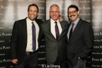 David Rossmer, Mark S. Hoebee and Steve Rosen. Photo by Lia Chang