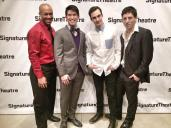 Emmanuel Brown, Christopher Vo, Reed Luplau and Ari Loeb. Photo by Lia Chang