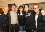 Francis Jue, David Henry Hwang, Leigh Silverman, Cole Horibe and Alan Muraoka. Photo by Lia Chang