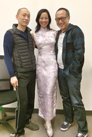 Francis Jue, Lia Chang and Alan Muraoka. Photo by Sonya Tayeh