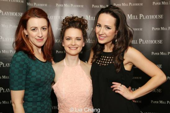 Kate Wetherhead, Cathryn Salamone and Hannah Elless. Photo by Lia Chang