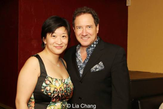 Co-producers Lily Fan and Kevin McCollum. Photo by Lia Chang
