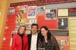 Bruce Lee's widow, Linda Lee Cadwell, David Henry Hwang and Bruce's daughter, Shannon Lee. Photo by Lia Chang