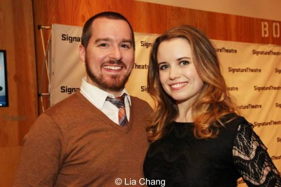 Ryan Jones and Phoebe Strole. Photo by Lia Chang