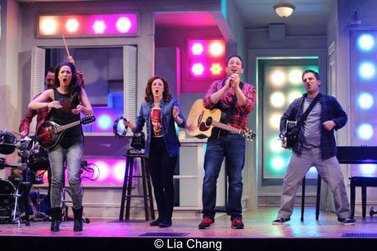 Steve Rosen, Hannah Elless, Kate Wetherhead, David Rossmer and Vadim Feitchner. Photo by Lia Chang