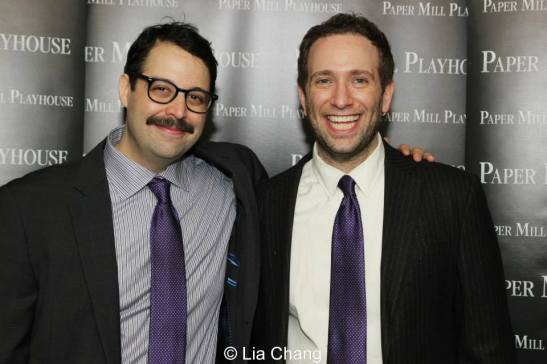 Co-stars and co-writers Steve Rosen and David Rossmer. Photo by Lia Chang