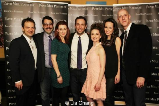 Vadim Feichtner, Steve Rosen, Kate Wetherhead, David Rossmer, Cathryn Salamone, Hannah Elless and Ken Triwush. Photo by Lia Chang