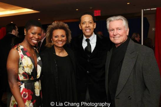 Roslyn Ruff, Leslie Uggams, Peter Jay Fernadez, Grahame_Pratt. Photo by Lia Chang