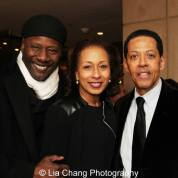 Gregory Generet, Tamara Tunie and Peter Jay Fernandez. Photo by Lia Chang