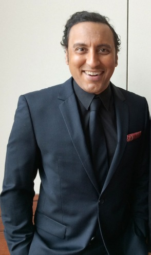 Aasif Mandvi. Photo by Lia Chang