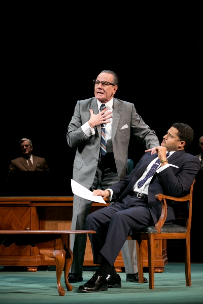 Bryan Cranston, Brandon J. Dirden and Richard Poe. Photo by Evgenia Eliseeva