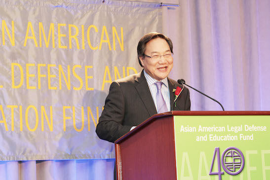 2014 Justice in Action honoree John G. Chou. Photo by Lia Chang