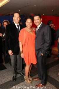 Peter Jay Fernandez, Crystal Dickinson and Brandon J. Dirden. Photo by Lia Chang