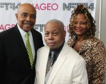 Roscoe Orman, Ed Bullins and Tonya Pinkins. Photo by Lia Chang