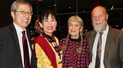Stanley Mark, Karen Korematsu, Gammy Miller and Ken Kimerling. Photo by Lia Chang