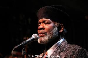 Rome Neal at the Nuyorican Poets Cafe in New York on March 1, 2014. Photo by Lia Chang