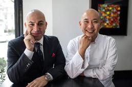Alessandro Borgognone and Daisuke Nakazawa