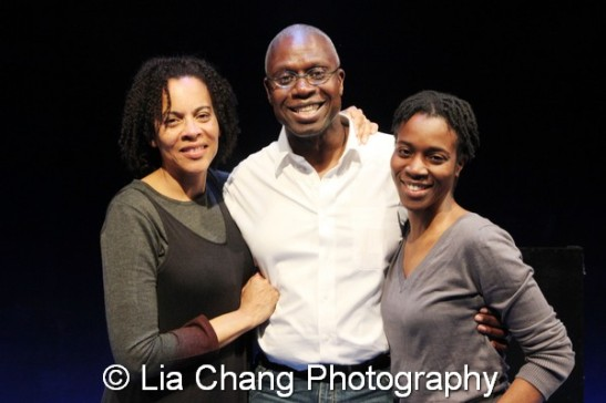 Ami Brabson, André Braugher and Awoye Timpo. Photo by Lia Chang