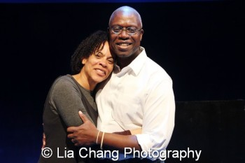 Ami Brabson and André Braugher. Photo by Lia Chang