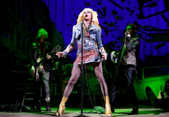 Neil Patrick Harris in Hedwig and the Angry Inch. Photo by Joan Marcus