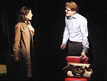 Judy Kuhn and Michael Cerveris in Fun Home. Photo by Joan Marcus