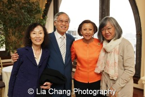 Filmmaker Christine Choy, Cao K. O , Congresswoman Nydia Velázquez and June Jee. Photo by Lia Chang
