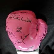 Glove signed by the cast of Under My Skin.