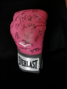 Glove signed by the cast of All The Way.