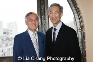 Cao K. O and Fred Katayama. Photo by Lia Chang