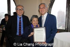 PH Tuan, Gwynne Tuan and Cao O. Photo by Lia Chang