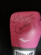 Glove signed by Bryan Cranston.