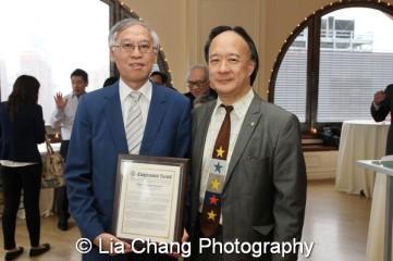 Cao K. O and Richard Hsia. Photo by Lia Chang